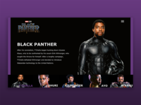 Black Panther Web UI