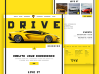 Lamborghini Web UI