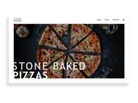 Stone Pizzas Web UI
