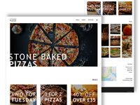 Stone Pizzas Home Page