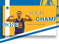 Golden State Warriors Web UI