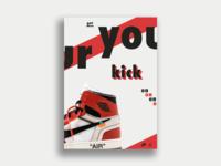 Air Jordan 1 Poster Design