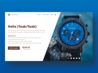 Holzkern Product Page