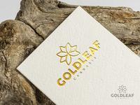 Goldleaf Logo Design