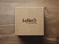Logo for Lefler Courier.