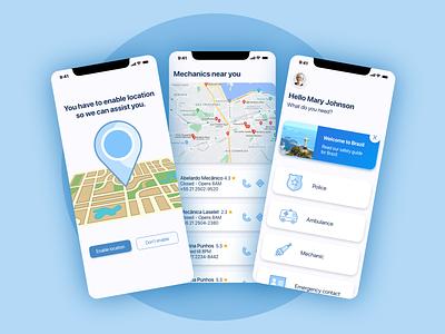 Travel Aid mobile app design design ux ui