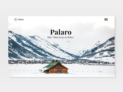 Palaro website UI webdesign website ux ui