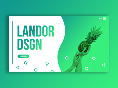 Landor Design graphic design concept webdesign