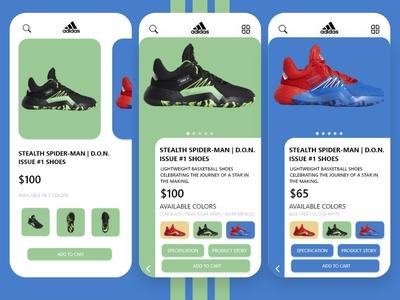 Adidas UI