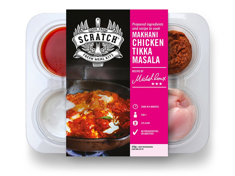 Scratch design packaging