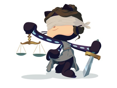 Justicetocat illustrator drawing illustration octocat github justice lady justice international womens day womens history month