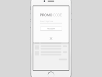 Daily UI - Redeem Coupon