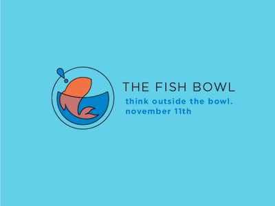 Fish Bowl cover photo handout promotional flyer marketing