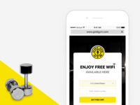 Free WiFi - Gold Gym