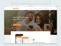 Nimbuzz! Website Design
