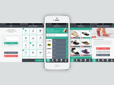iOS App - Shop O Lot (Concept)