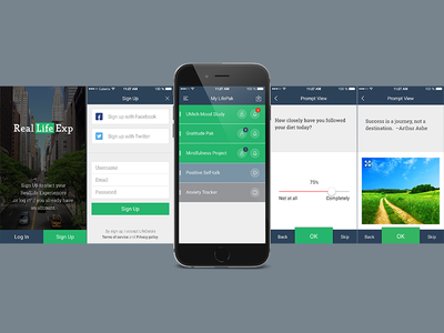 RealLife Exp App