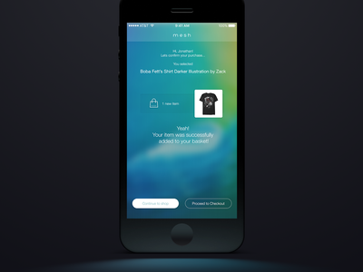 Concept for a Cognitive Shopping Assistant