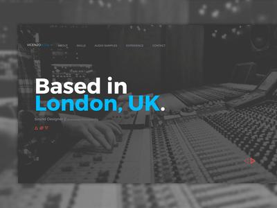 Sound Designer Web Portfolio
