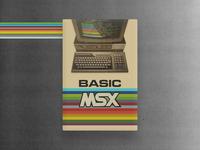 Basic Msx 80's Computer