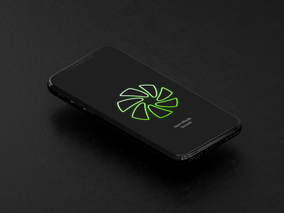 Sicredi's Dark Mode Teaser dark dark mode portfolio neon green teaser presentation bank finance fintech sicredi mobile app design ui concept
