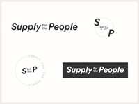 Supply for the People Logo Concept