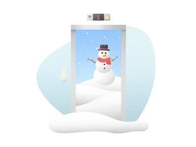 Winter Elevator