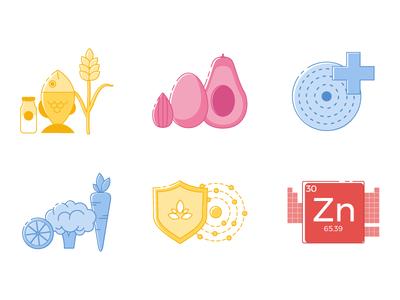 Health & Diet Illustrations