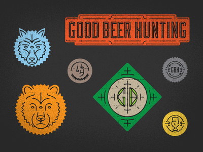 Good Beer Hunting stickers