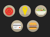 Food Genius Icons