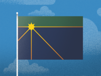 Michigan Flag v2