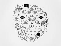 Dissociation Sketch