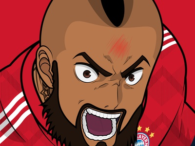 "Bundesliga Anime ""Vidal Scream"""