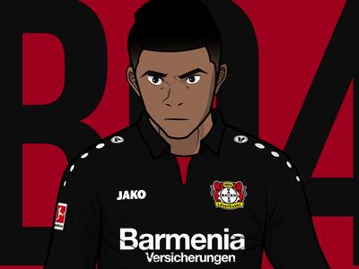 Baily - Bayer Leverkusen - Bundesliga Animation