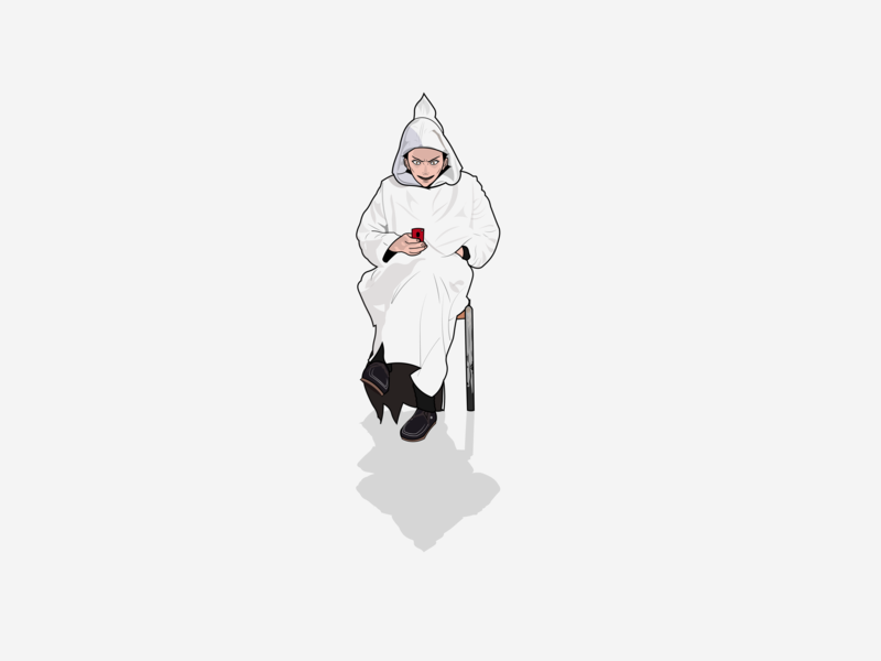 Anime Character Moroccan Old Man By Ilias On Dribbble