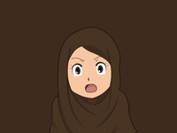 Anime Hijab Girl