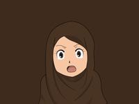 Anime Hijab Girl