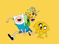 Adventure Time Illustration