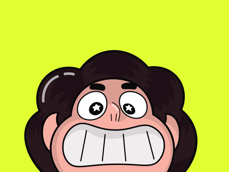 Steven Universe Head Illustration by Ilïas on Dribbble