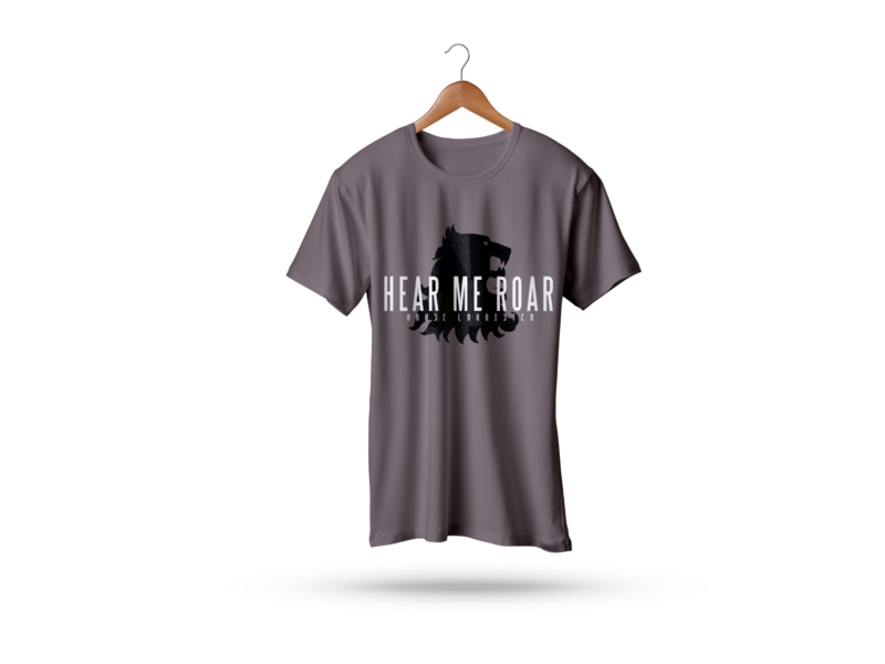 Hear Me Roar T-Shirt t shirt art t shirt designer t shirts t shirt design tshirt design hello tshirtdesign tshirt art tshirts t shirt design illustration colors dribbble tshirt