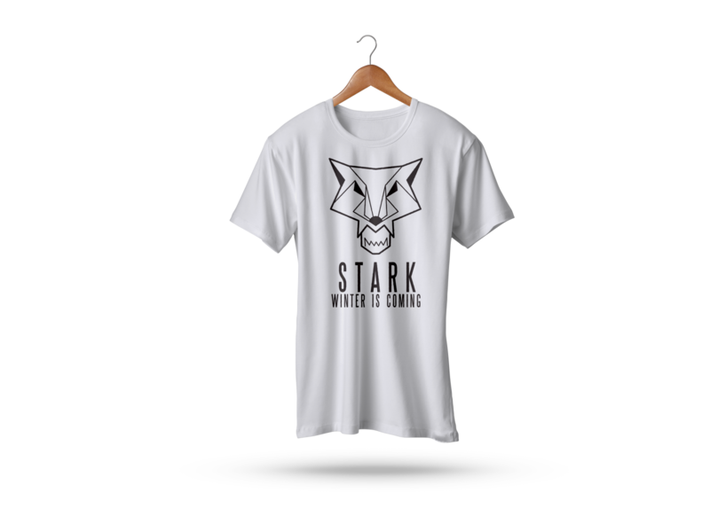 STARK T-Shirt tshirts tshirt art tshirtdesign tshirt tshirt design graphic t shirt designer t shirt art t shirt design t shirts t shirt game of thrones got graphic design illustration 2d design colors dribbble hello