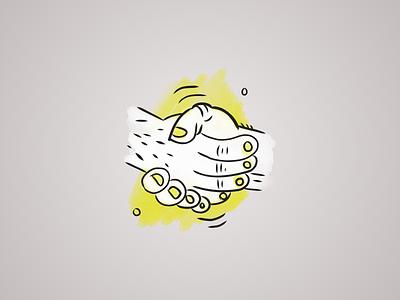 Grizzly Hand Icons design digital illustration adobe fresco illustration icons