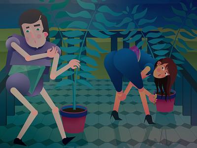 Mechislav And Svetlana digital illustration digital art adobe illustrator illustrator illustration
