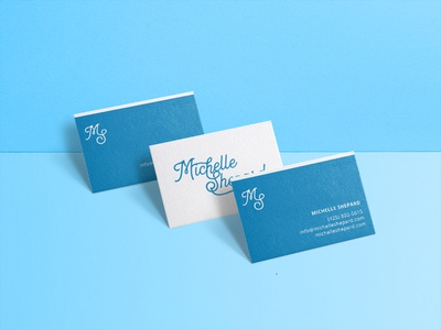 Businesscards blue cards blue business cards personal branding personal business cards