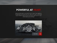 Porsche Landing Page Video Section