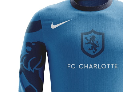 Charlotte MLS kit mockup futbol uniform kit soccer mls