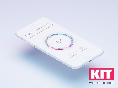 KIT | Daily UI #1 Bubble App  daily ui ui challenge app design ux ui