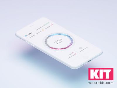 KIT | Daily UI #1 Bubble App