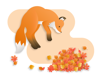 Falling Leaves and Foxes