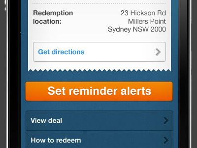 iPhone app UI iphone app ios ui sydney
